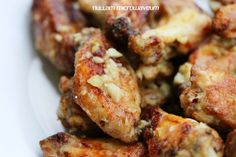 Lookboter en parmezaan chicken wings