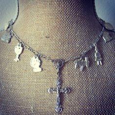#milagro #milagros #altars #altar #miracle #charm #charmed #blessed #divine #mexico #saints #mexican #custom #blessing #art #handmade #sacred #faith #god #style #amulet #talisman #angel #protection #prayer #chic #fashion #jewelry #silver #necklace #rosary #gratitude #thankyou #love  Segundo Milagro http://segundomilagro.tumblr.com