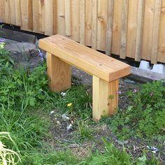 Douglas fir Garden Bench