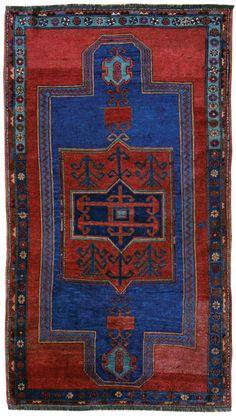 Armenian Village Kazak, circa 1890, 3'11 x 7'