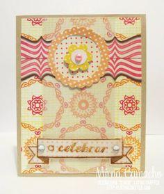 Latina Crafter Vintage Banner, Latina, Welcome November, Projects, Vintage Flag