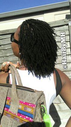 #OhemaasLocks & Her Favourite Bag  #Sisterlocks #AfricanHairIdentity