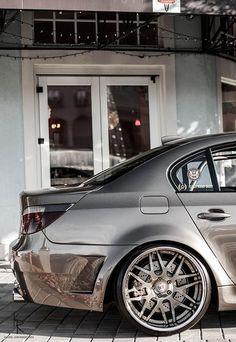 Visit The MACHINE Shop Café... ❤ Best of BMW @ MACHINE ❤ (BMW 5 Series w/ Chrome Paint)