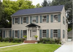Choose Your Housing Style Dream Homes Colonial House Exteriors Gambrel Roof Dutch Colonial Homes
