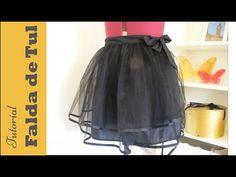 Falda de tul: Tutorial paso a paso para hacerla. DIY COSTURA Cómo hacer una falda de tul o falda de bailarina sin cierres de forma muy sencilla. Solo necesit...