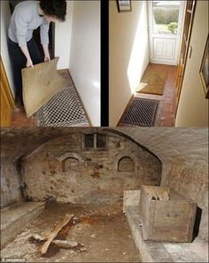 Hidden chapel under a Victorian home in Shropshire, England