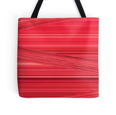 Bright Red Lines Design Digital Art by Adri of Minding My Visions artwork on tote bags, throw pillows, cellphone cases, (iPhone or Galaxy), iPad or laptop skins, clothing, coffee cups / mugs and more!  www.mindingmyvisions.com https://www.facebook.com/mindingmyvisions