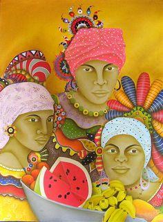"""""""Vendedoras de frutas""""    Jorge Rosensvaig"""