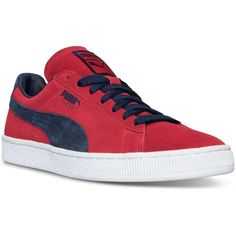 Puma Men s Suede Classic Casual Sneakers from Finish Line (970 ARS) ❤ liked  on 562cd604e3df