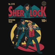 Sherlock Comic