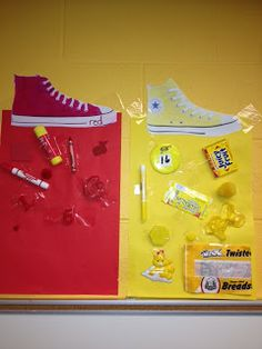 Coyne's Crazy Fun Preschool Classroom is celebrating colors with this easy homework class project!