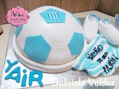 Gabriela Valdez: CAKE CON ESTILO FUTBOLERO- RACING CLUB DE AVELLA...