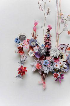 anne ten donkelaar   Flower Constructions
