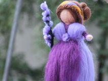 Zauberhafte Lavendel Fee, Fee, Jahreszeiten