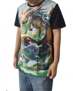LOL League of Legends Baron Nashor t shirt large dragon xxxl t shirts