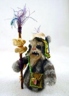 Leyati the Ewok Medicine Man; Artist: Megan Jeffery