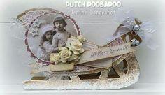 Dutch Doobadoo Card Art Arreslee door Jenine