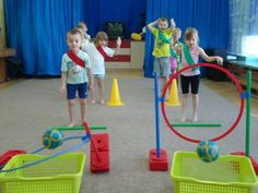 Are you looking for a school that is distinctly and profoundly American? Motor Skills Activities, Montessori Activities, Class Activities, Physical Activities, Preschool Activities, Gym Games For Kids, Kids Gym, Fun Games, Gym Classes