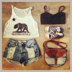 15 Ideas fashion hipster summer crop tops for 2019 Cute Fashion, Look Fashion, Teen Fashion, Fashion Outfits, Womens Fashion, Fasion, Hipster Fashion, Fashion Styles, Cute Summer Outfits