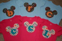 Mickey Mouse Shirt Disney Vacation Shirt for by mylittlelegacies, $29.95
