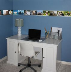 Brighten up your home office