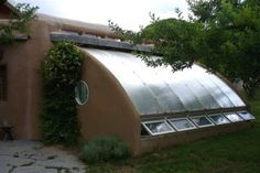 Alt. Build Blog: The Attached Solar Greenhouse