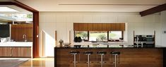 Image 19 of 47 from gallery of One Wybelenna / Shaun Lockyer Architects. Photograph by Scott Burrows Amazing Architecture, Interior Architecture, Interior Design, House Names, Decor Inspiration, Property Design, Home Board, Rustic Elegance, Living Area