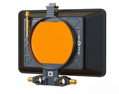 The Bright Tangerine Misfit ATOM matte box offers a wider field of view, covering lenses as broad as the 14mm Cooke S4 lens. The Misfit ATOM can handle RED Pro Zoom lenses at 5K, so vignettes are n...