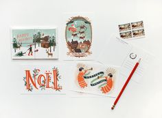 rifle paper co. | holiday cards