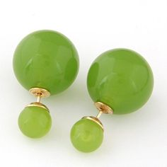 Office Green Round Shape Alloy Stud
