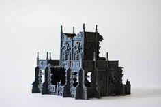 Buildings, Ruins, Work In Progress