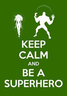Superheroes!!!!!!!!!