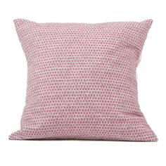 Merino Lambswool Cushion – Made in England – Classic Clarendon Hot Pink on Grey Cushion - Tori Murphy Ltd Luxury Cushions, Grey Cushions, Designer Cushions, Pink Grey, Hot Pink, Star Cushion, Simple Prints, Throw Pillows, Classic