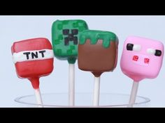 Click here to learn how to make awesome Minecraft candy pops using your favourite candy bars!