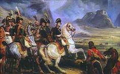 On April 2, 1796, Napoleon led his army into Italy.  His 38,000 French soldiers fought against 38,000 Austrians and 25,000 Piedmontese allies. Napoleon's plan was to separate the Austrians from the Piedmontese, then defeat each army individually.