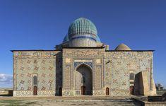 Mausoleum of Khoja Ahmed Yasawi, Turkestan, Kazakhstan
