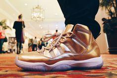 """Air Jordan XI """"Metallic Gold"""""""