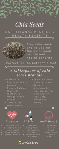 Chia Seeds keto and nutritional value low carb