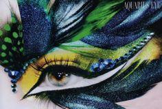 I was thinking peacock eye but the label says Aquarius eye.