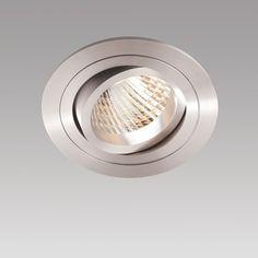 NEW AGE E187 RUND, inkl. LED 3000lm 830 24° 39W, inkl. LED-Konverter DALI dimmbar - Innenleuchten
