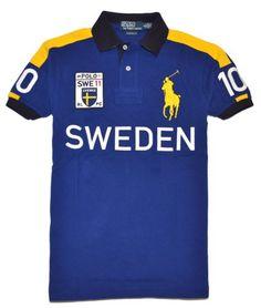 Polo Ralph Lauren Men Custom Fit Big Pony T-Shirt - SWEDEN $109.99  #canihavethis?