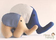 Elefantinho de Feltro