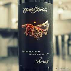 A Work of Art. Chateau Ste Michelle Artist Series Meritage 2008 - Make Mine A Meritage Wine #9 from Columbia Valley, Washington. #winelover http://www.reversewinesnob.com/2013/04/chateau-ste-michelle-artist-series-meritage.html