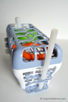 Cleaning those Diaper Bag Essentials with the Playtex Dishwasher Basket - B-Inspired Mama