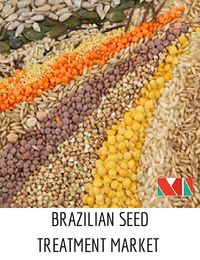 Seed treatment can be defined as the application of chemical ingredients or biological organisms to the seed that enables in suppressing, controlling or repelling plant pathogens, insects, or other pests that attack seeds, seedlings or plants. The Brazil seed treatment market was worth around $415.4 million in 2015 and is expected to cross $674.9 million by 2020 growing at the CAGR of 10.2% during the forecast period 2015-2020.