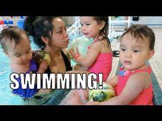 SWIMMING!!! - April 16, 2015 ItsJudysLife Vlogs