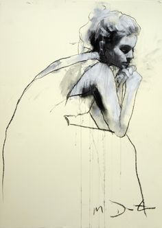 Helen Seated  Mark Demsteader