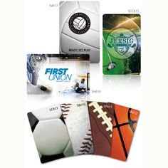 """Sports Theme Playing Cards Party Favor   Sport Theme, Rectangle, Round Corner, 8 Pt, Playing Deck Of 52. 2 1/4\"""" W x 3 1/2\"""" L. Soccer, Baseball, Football, Basketball, Volleyball, Golf, Hockey   Bar/Bat Mitzvah Favor"""