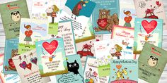 FREE Printable Valentine Cards With Bible Verses - Time-Warp Wife   Time-Warp Wife