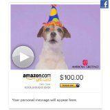 Amazon Gift Card - Facebook - Woofy Birthday (Animated)